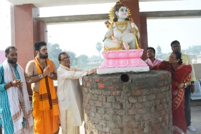 ram lalla at ayodhya rama temple