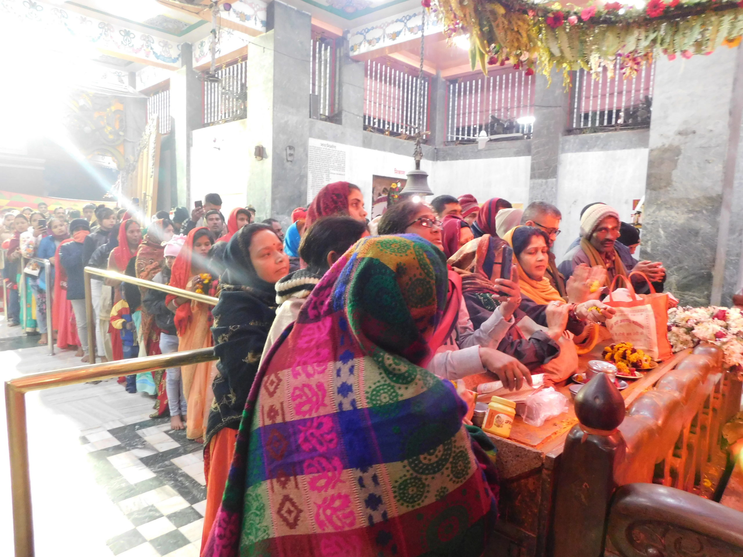 Special preparations for devotees in Mahavir temple in new year