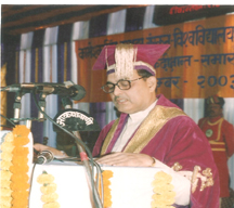 Kishore Kunal as a vice-chancellor